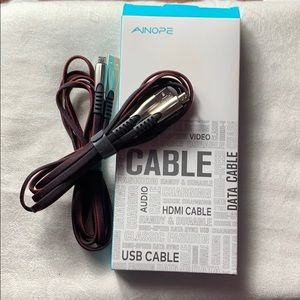 Android Phone Charing Cables NIB